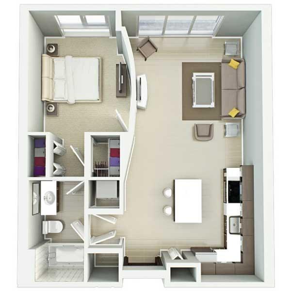 Nora – University Of Florida Housing Floor Plans