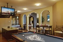 Clubhouse with Billiards, Plenty of Seating, and Flat Screen TVs
