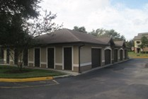 Detached garages and additional storage units available.