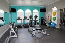 Recently Updated 24 Hour Fitness Center with Matrix Cardio Equipment