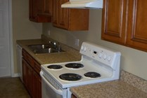 Upgraded Kitchen Countertops and Cabinets